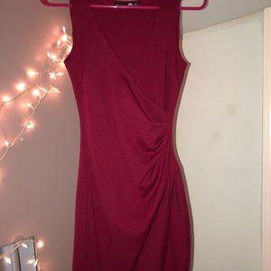 Boohoo midi bodycon dress